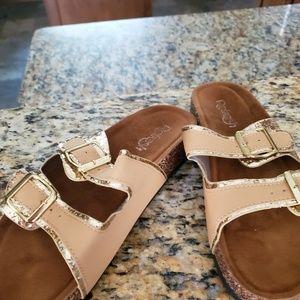 Fancy Birkenstock type sandals